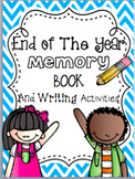 End of The Year Memory Book and Writing Activities