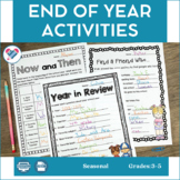 End of Year Activities MEGA Pack! Yearbook and Memory Book