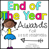 End of Year Awards {Recognizing Little Learners}