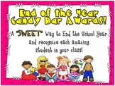 """End of Year """"Sweet"""" Candy Bar Awards!"""