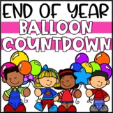 End of Year Balloon Pop Activities