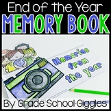 End of Year Reflection and Memory Book