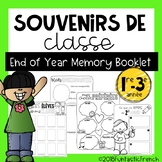 French End of Year Memory Book Yearbook (Souvenirs de classe)