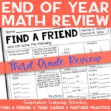 End of the School Year: Math Review of Grade 3 Concepts -