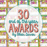 End of the Year Awards {30 Different Certificates}