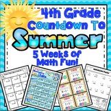 End of the Year Math: 5 Week Countdown (4th Grade)