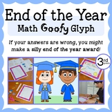 End of the Year Math Goofy Glyph (3rd grade Common Core)