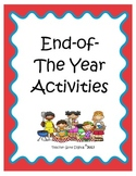 End of the Year Memory Mini Math & Literacy Packet