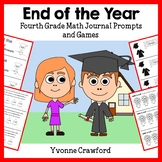 End of the Year Math Journal Prompts (4th & 5th grade)