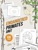 Endangered Species Unit: Primate Lesson Plan