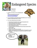 """Endangered Species """"You Choose"""" Project"""