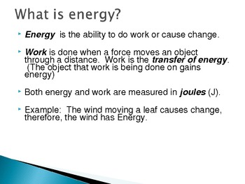 Energy, Kinetic Energy, Potential Energy, & Types of Energ