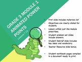 Engage NY Math 3rd Grade Module 1 Topics D, E and F Lessons 11-21