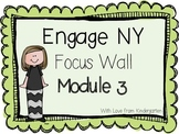 Engage NY Math Focus Wall Posters Module 3