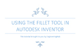 Engineering Lesson Plans: Autodesk Inventor - Using the Fi