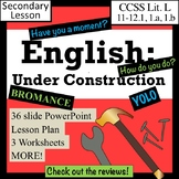 English Under Construction: How English Has Changed