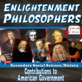Enlightenment Philosophers GALLERY WALK ACTIVITY