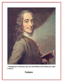 Enlightenment Thinkers Posters