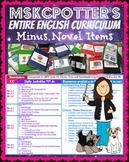 Entire English Curriculum (minus novel units) Common Core Aligned