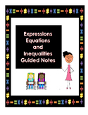 Equations and Inequalities Study Guide 7th Grade GA Common Core