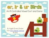 Er, Ir, and Ur Birds - An R-Controlled Vowel Game