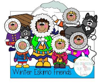 Eskimo Clip Art