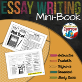 Essay Writing Mini-Book (foldable, printable, fun-filled r