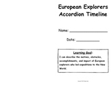 European Explorers Accordion Timeline