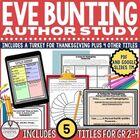 Eve Bunting Spring Author Study Bundle