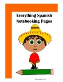 Everything Spanish Notebooking Pages