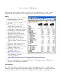 Excel Assignment: Buying A  Car