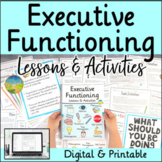 Executive Functioning Lessons & Activities (Organization,