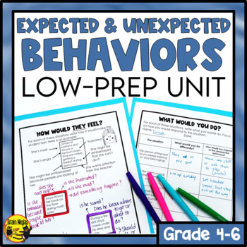 Expected and Unexpected Behaviors-Lessons, Activities & Assessments