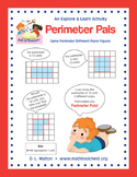 Explore and Learn 3rd Grade Perimeter Standards: Perimeter Pals