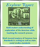 Explorers of the Americas Research Report- Social Studies/