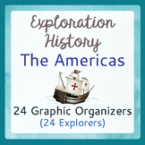Explorers to the Americas - 24 Graphic Organizers