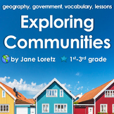 Exploring Communities (Includes geography, government, voc