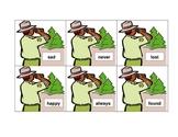 Exploring Parks with Ranger Dockett - Antonym Sorting Cards