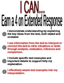 Extended Response Poster
