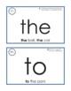 Eyewords Multisensory Sight Words 1-50 Flashcards/ Wordwall Words