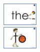 Eyewords Multisensory Sight Words 1-50 Flashcards/ Wordwall Words