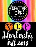 FALL VIP Membership 2015 {Creative Clips Digital Clipart}