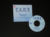 FAME Articulation Workbook on CD