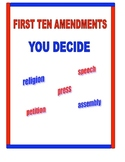 FIRST TEN AMENDMENTS BILL OF RIGHTS