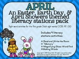 April Literacy Mini Packet