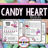 FOOD MATH - Candy Heart Math