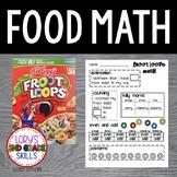 FOOD MATH - Froot Loop Fun