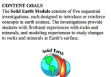 FOSS Kit Solid Earth Investigations 1&2 Smart Notebook Lessons