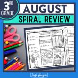 Summer Review 3rd Grade FREE