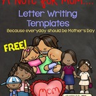 FREE A Note For Mom [Mother's Day]